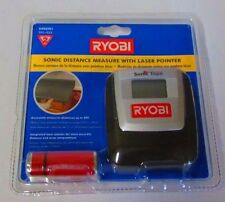 Ryobi Sonic Distance Measure With Laser Pointer