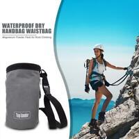 Outdoor Climbing Chalk Bag Non-slip Adjustable Magnesium Powder Storage Pouch