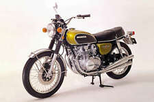 1971 HONDA CB500 FOUR VINTAGE MOTORCYCLE POSTER STYLE B 24x36