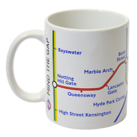 Licensed Official TFL London Underground™ Tube Map Mug White