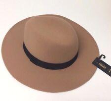 Unisex Men Women Camel Jazz Wool Blend Trilby Bowler Fedora Hat Panama Cap New