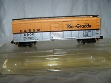 MDP N-N-Scale 40' Steel Boxcar D&RGW(RTR)