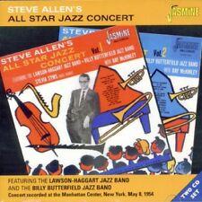 STEVE ALLEN - ALLSTAR JAZZ CONCERT 2 CD NEW