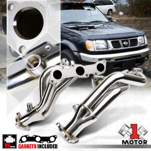 SS Exhaust Header Manifold for 99-04 Nissan Frontier/Xterra/Pathfinder 3.3 6Cyl