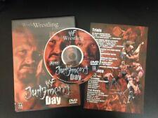 WWF - Judgment Day 2001 DVD Triple H, Lita, Chyna, Big Show RARE