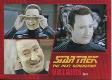 Star Trek TNG Heroes & Villains Parallel Base Card #56