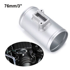 76mm Mass Air Flow Sensor Adapter Air Intake Meter Mount For Nissan Honda Ford