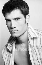 Lenox Fontaine Original B&W 35mm Film Negative Male Model Gay Interest Photo #1