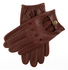 Dents Delta Men's Hairsheep Leather Classic Driving Gloves S English Tan