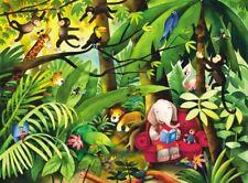 Vlies Wandbild 138702 Dschungel - Breite 139 cm x Höhe 103 cm - 321meins