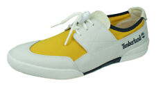 Timberland TBL 30 Mens Deck Shoes Boat Trainers Loafers - White Yellow