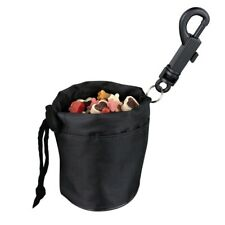 Black Pet Dog Puppy Cat Pouch Snack Bag Dog Training Food Treat Travel Carrier
