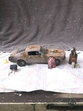 1/18 Scale Die Cast 1968 FORD MUSTANG GT  Barn Find Weathered Junkyard Car