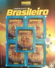 PANINI 2017 Brazil Campeonato Brasilerio Album from Brasil C/W 5 Sticker packs