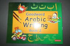 Goodword Arabic Writing Skill Book2 Muslim Children Kids Islamic Alphabets Words
