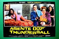 T01 Fotobusta Agente 007 Thunderball Operación Tuono Sean Connery James Bond 2
