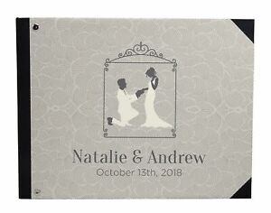 Printed Hardbound Cover Guestbook For Wedding Guest  Book Registry-DSPGB-96A