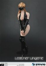 Zytoys Zy5004 1/6 Sexy black leather + boots for Phicen Boby Pre-Order