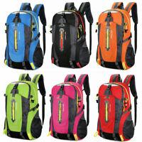 Large Hiking Backpack Outdoor Sports Bag Rucksack Camping Travel Waterproof 40L