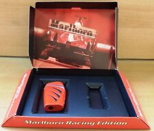 VHTF MARLBORO CIGARETTES RACING EDITION RED LIGHTER WITH OFFICIAL BOX