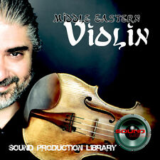 Middle Eastern Violin Unique Perfect Wave/Nki Multi-Layer Samples Library on Dvd