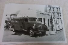 1947 DODGE CITIES SERVICE OIL TANKER TRUCK  11 X 17  PHOTO   PICTURE
