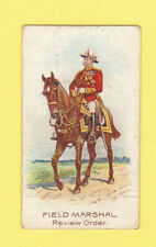 MILITARY  -  WILLS  FLAG  -  FIELD  MARSHAL  CARD  -  1912