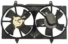 620-419 Dual Radiator and Condenser Fan Assembly FIT NISSAN