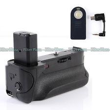 Pro Multi Power Battery Grip Holder For Sony Alpha A6000 Camera BG-3DIR w/Remote