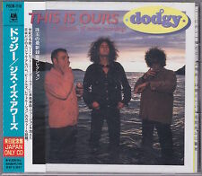 Dodgy - This Is Ours - Scarce 1994 Japanese only 8 track CD w/ OBI strip