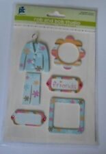 PROVO CRAFT ROB & BOB STUDIO FRIENDS EMBELLISHMENT TOPPERS FOR CARDS & CRAFTS