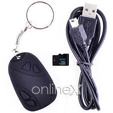 Mini DVR Llavero Espía Coche Cámara Oculta  Negro + Tarjeta 4GB a905