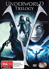 Underworld Trilogy / Evolution / Rise Of The Lycans (DVD, 2009, 3-Disc)