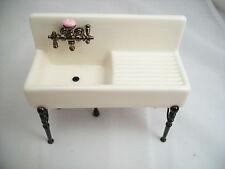 Kitchen Sink porcelain  1.841/0 miniature dollhouse furniture 1/12 scale Reutter