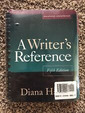 A Writer's Reference 5e + Cd-rom Electronic Exercises for Writer's Reference 5e