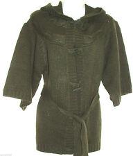 Hooded 3/4 Sleeve Cardigans for Women