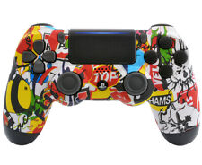 Soft Touch Sticker Bomb Ps4 Custom UN-MODDED Controller Exclusive Custom Design