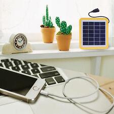 2000mAh Solar Power Bank Charger Ladegerät  Akku USB LED Outdoor Für telefon 6V