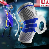 New Knee Sleeve Compression Brace Support For Sport Joint Pain Arthritis Relief