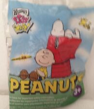 Peanuts Charley Brown Wendy's Kid's Meal Stuffed Toy 2006 New