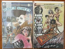 Caliber Press Comics Set of 2 - Baker Street #1 & Cheerleaders From Hell #1