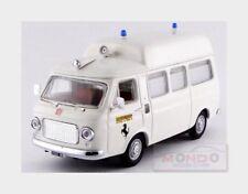 Fiat 238 Ambulance Tetto Alto Ferrari Fiorano 1972 White RIO 1:43 RIO4555