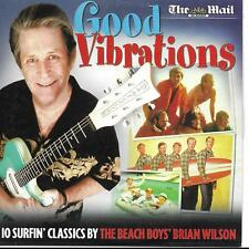 Brian Wilson Good Vibrations 10 surfin' classics UK Mail on Sunday CD Beach Boys