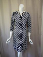 NWT New J Mc Laughlin Print 3/4 Sleeve Dress size S