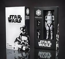 Star Wars Force Awakens Black Series First Order Stormtrooper SDCC 6 Inch Figure