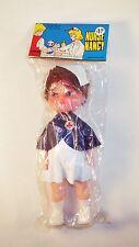 Vintage 1980s Brunette Nurse Nancy Doll - Hong Kong by Larami