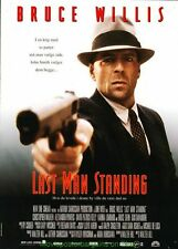 THE LAST MAN STANDING MOVIE POSTER DS 27x41 STYLE B BRUCE WILLIS