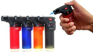 4 Pack Eagle Butane Torch Lighter Gun Windproof Adjustable Jet Flame Refillable