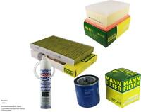 Mann-Filter + Liqui Moly Air Cleaner for Peugeot 307 Cc Sw Break Citroën C4 I