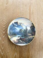 Franklin Mint Mountain Retreat Collectors Plate1992 Limited Edition #K5807
